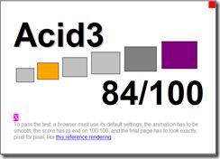 acid 3 Firefox 3.1 alfa1