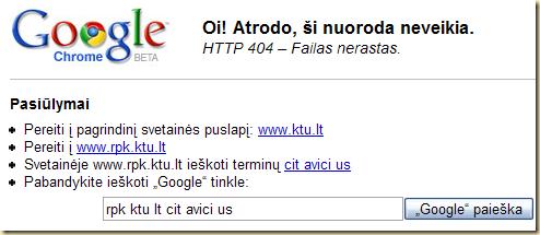 chrome 404