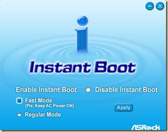 Asrock Instat boot