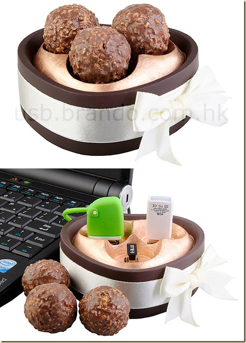chocolate-ball-usb-hub