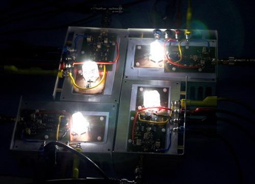 500 Megabit pro Sekunde mit weißer LED übertragen