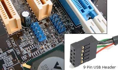 9-Pin Card Reader