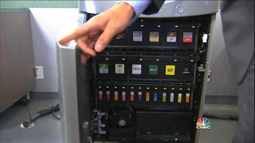 inside Coca Cola Freestyle cartridges