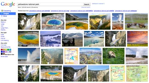 Google Images - Yellowstone