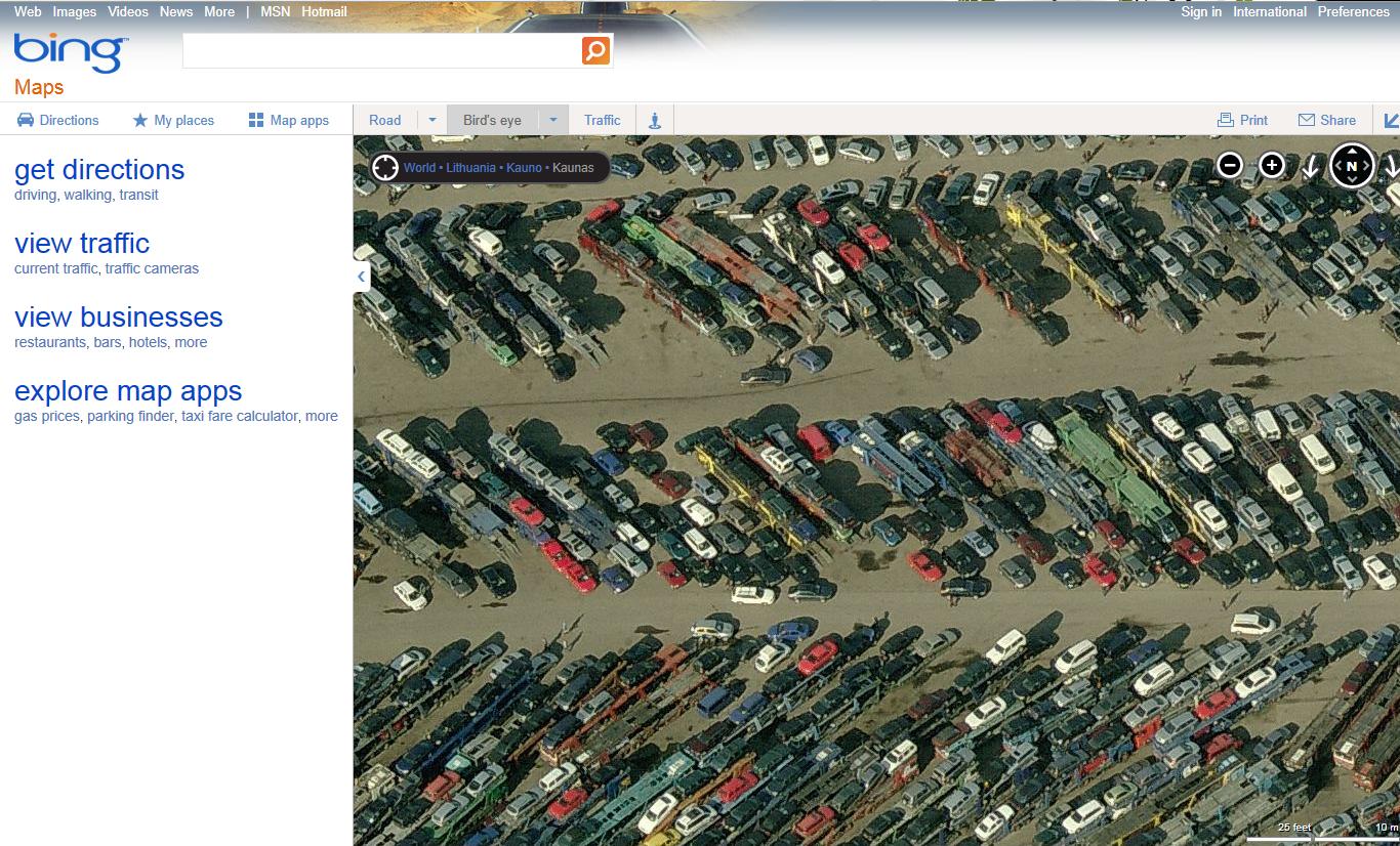 Bing maps vilnius