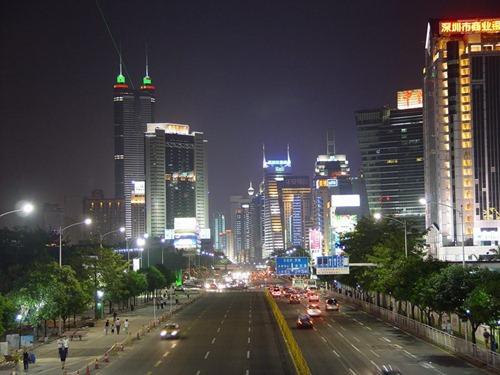 Shenzhen_night_street