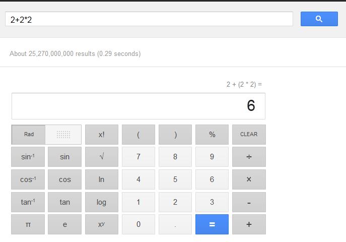 Skaiciuotuvas google