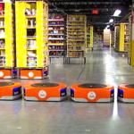 Kaip robotai padeda Amazon greičiau suruošti užsakymus