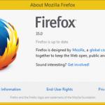 Pasirodė Firefox 35 versija