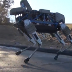 Boston Dynamics pristato Spot robotą