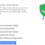 Gaukite papildomai 2 GB Google Drive vietos už Google paskyros saugos patikrą