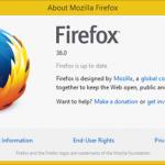 Pasirodė Firefox 36