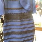 Kokios spalvos suknelė?