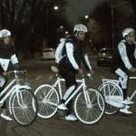 Volvo LifePaint purškiami dažai visą dviratį paverčia atšvaitu