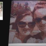Pamatyk save ekrane iš 6400 siūlų ričių