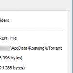 µTorrent savotiška failų siuntimo istorija