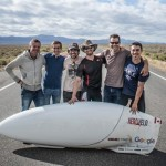 Tai greičiausia žmogaus varoma antžeminė transporto priemonė, kuri pasiekė 137 km/h greitį