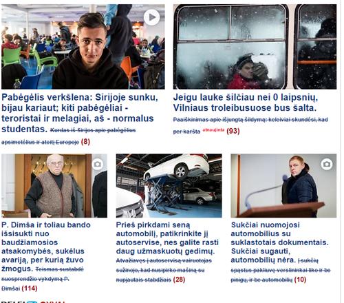 """2015-10-27 17_19_59-DELFI Žinios - Pagrindinis naujienų portalas Lietuvoje– """"Google Chrome"""""""