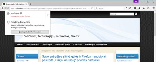 """2015-11-05 17_35_01-Savo antraštes siūlyti galės ir Firefox naudotojai, pasirodė """"Siūlyk antraštę"""" p"""