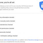 Papildomi 2 GB Google Drive vietos už Google paskyros saugos patikrą [2016]