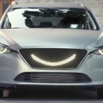 Besišypsantis autonominis automobilis