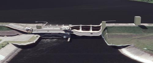 3D Lietuva, sugriuvęs tiltas