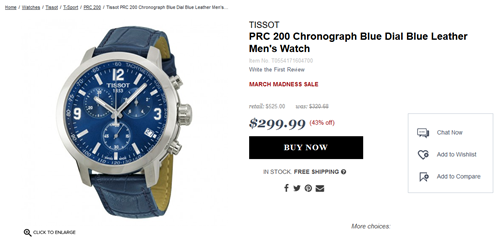 2017-03-25 14_22_39-Tissot PRC 200 Chronograph Blue Dial Blue Leather Men's Watch T0554171604700 - P