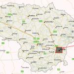 Ryšys dengia 99 % Lietuvos teritorijos. Kaip atrodo tas likęs 1 % Lietuvos ploto.