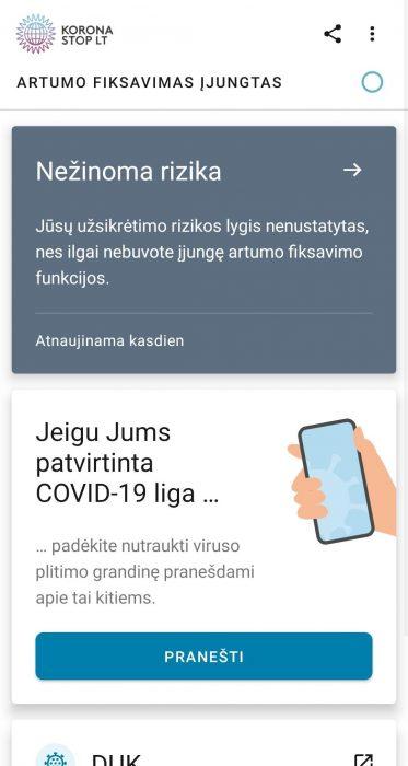 Google Play jau prieinama lietuviška Covid-19 kontaktų atsekimo programėlė Korona Stop LT